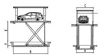 Platforma auto B1S